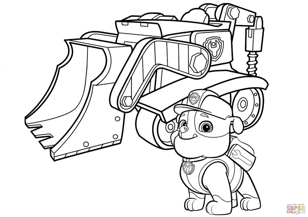 Puppy Dog Pals Coloring Pages