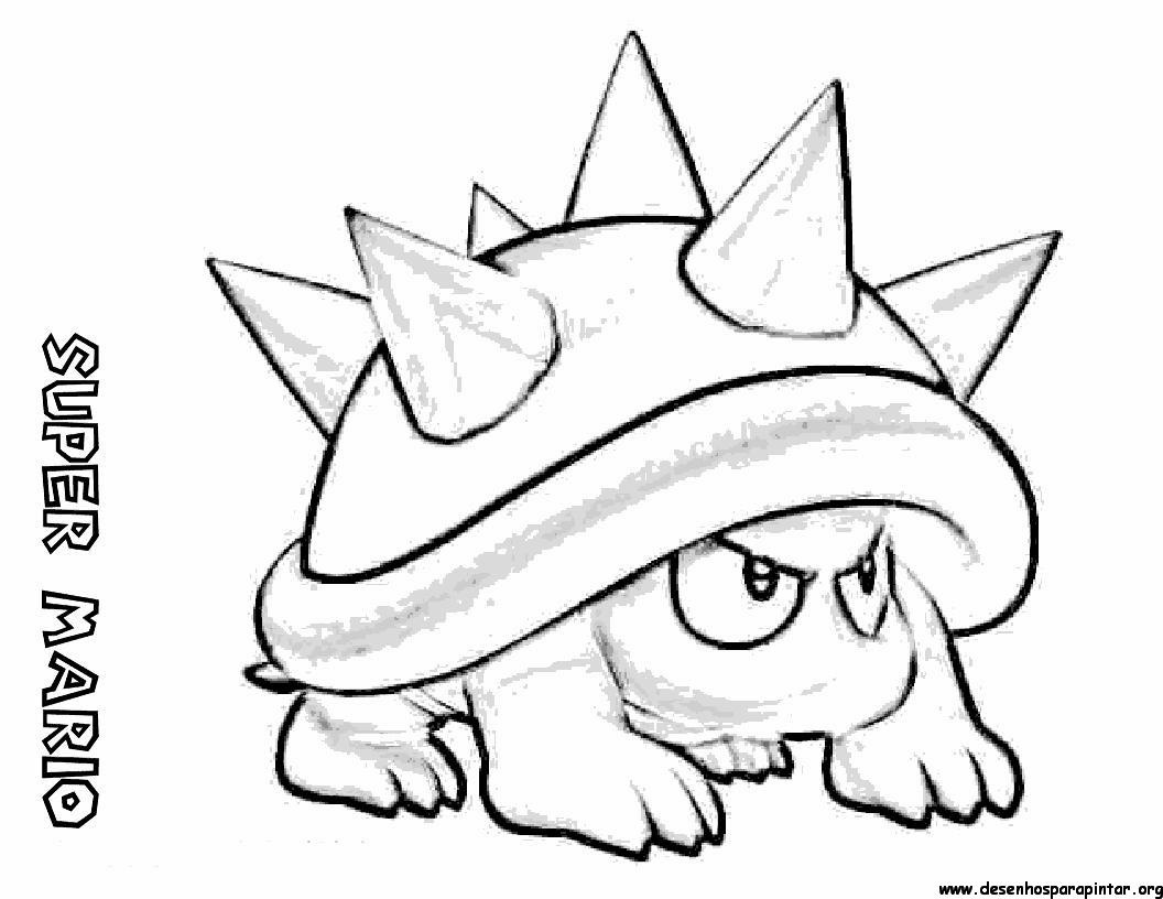 Free coloring pages of super mario toad