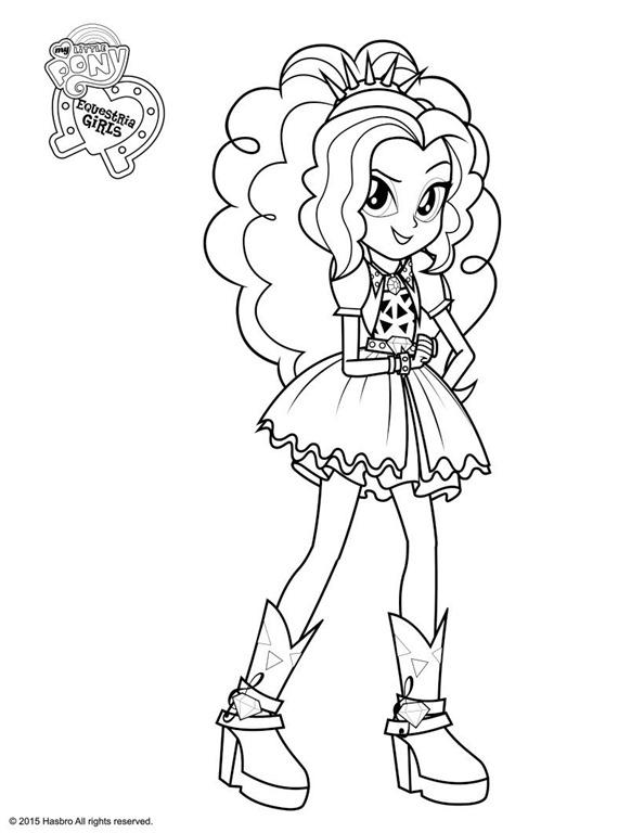 Novos desenhos das Equestria Girls My Little Pony para