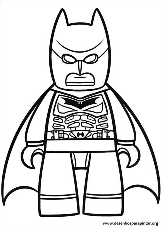 Lego Batman o Filme desenhos para colorir imprimir e