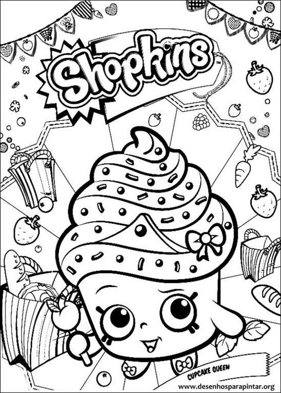 Shopkins desenhos para colorir imprimir e pintar