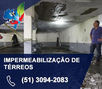 IMPERMEABILIZAÇÃO DE TERREOS