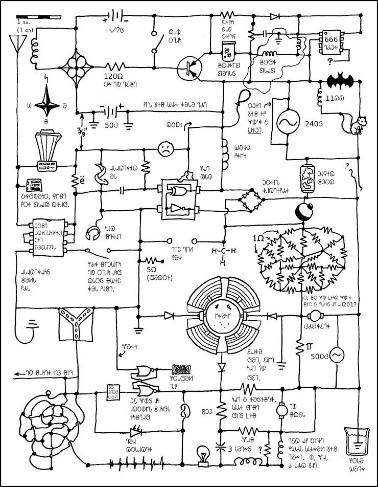 Circuit Diagram Xkcd Explained