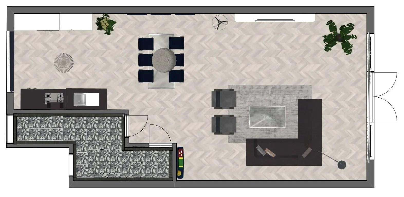 2D Indelingsplattegrond