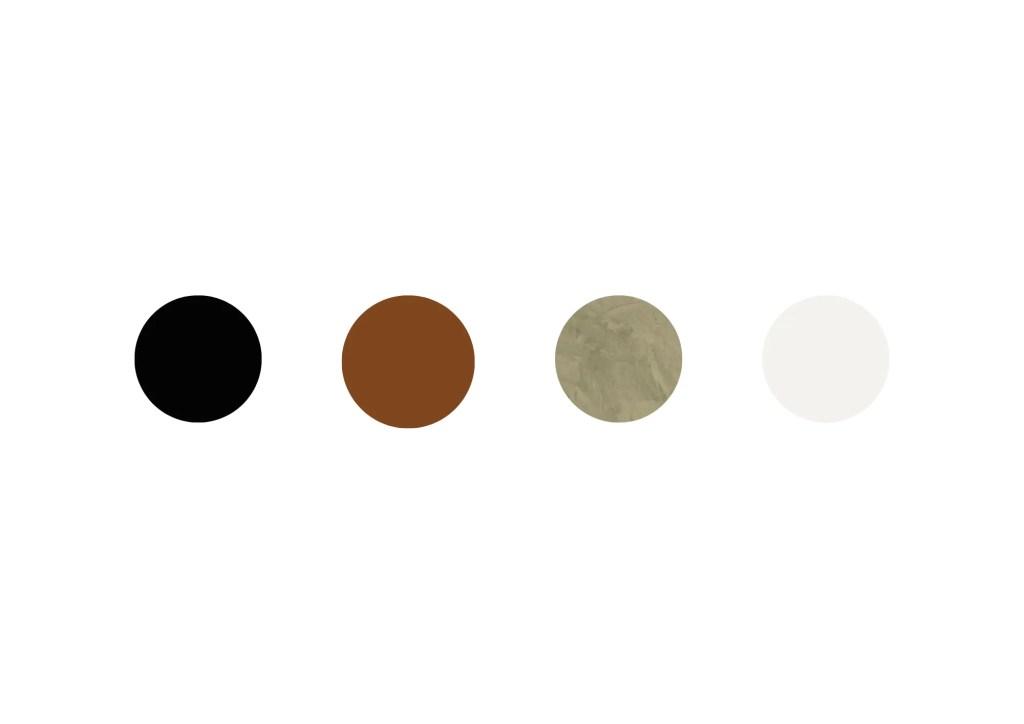 Kleurenpalet Industrieel Woonkamer