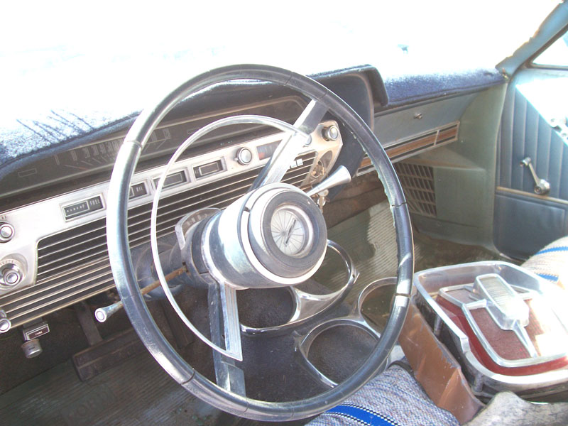 1967 Ford Galaxie 500 2 Door Hardtop Fastback Z Code Coupe Left Front Interior View