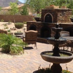 Outdoor Kitchen Pizza Oven Design Mission Cabinets Desert Landscaping: Phoenix, Scottsdale, Glendale & Peoria ...