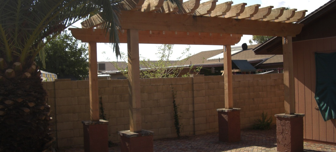 Scottsdale  Phoenix Patio Covers Pergolas  Ramadas