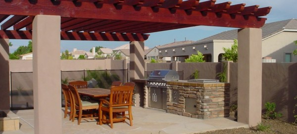 patio design & backyard landscaping