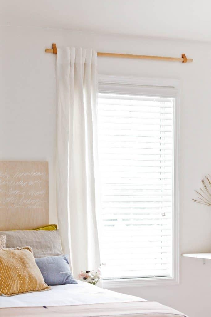 20 stylish diy curtain rods some