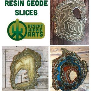 Resin Geode Slice
