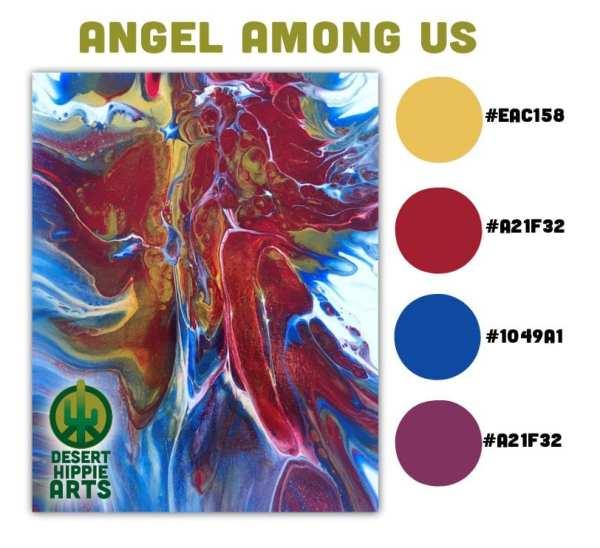 Angel Among Us Color Scheme Desert Hippie Arts