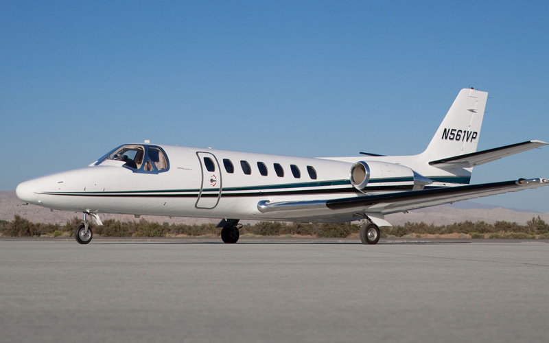 Cessna Citation Ultra  Desert Jet