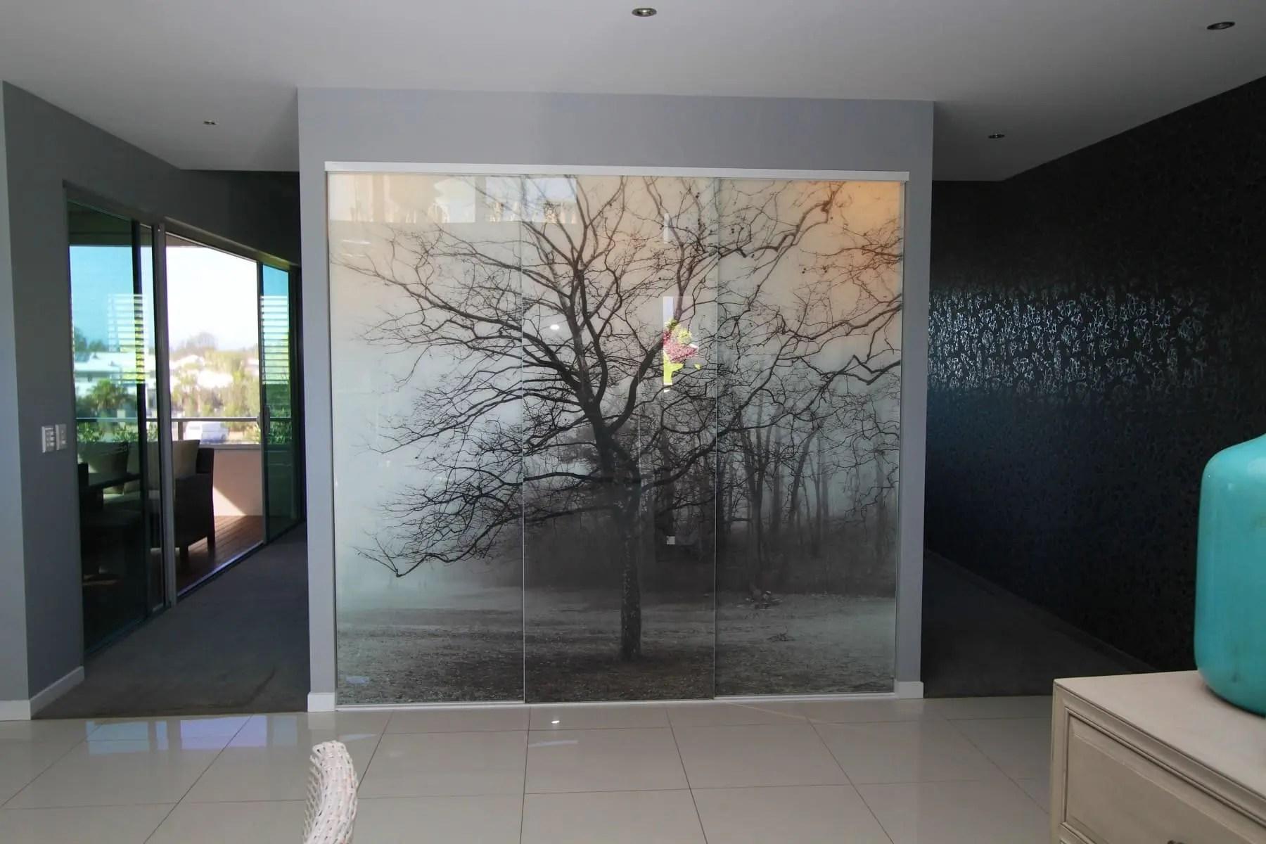 Printed Glass Doors