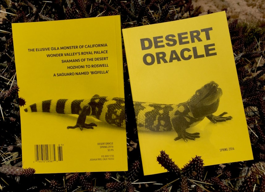 Desert Oracle Spring 2016
