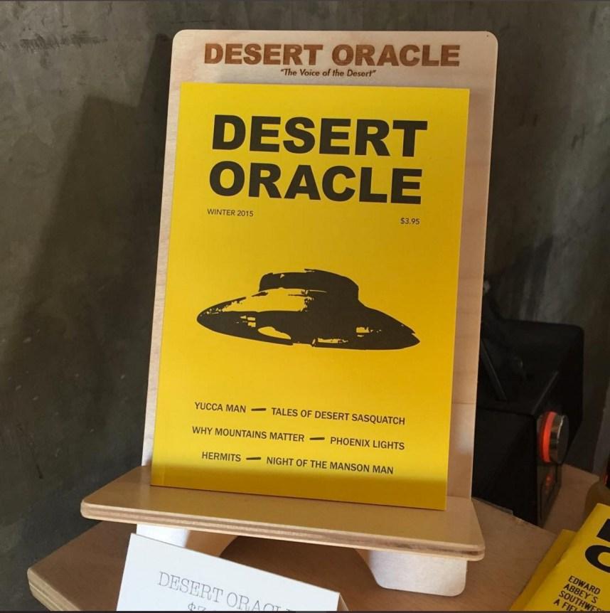 Desert Oracle winter 2015