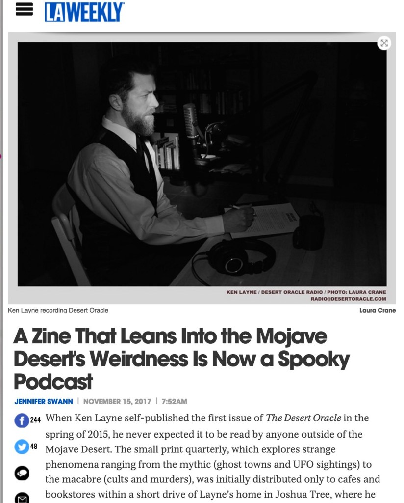 LA Weekly Desert Oracle Podcast