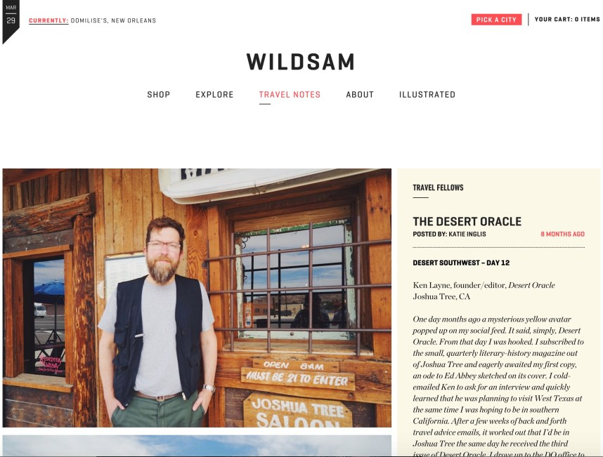 WildSam Field Guides 'Desert Oracle'