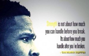 Strength is not about before it is about after copy