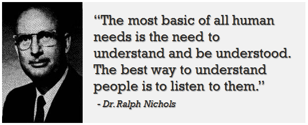 Nichols on Listening