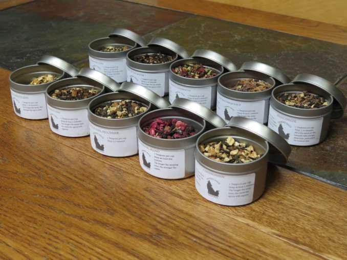 Chai Tea Samples Angled Front