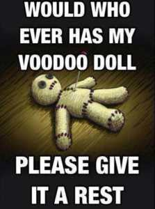 Chronic Pain - Voodoo Doll