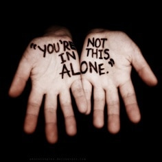 You're not in this alone
