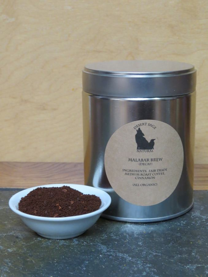 Malabar Brew Tin and Coffee