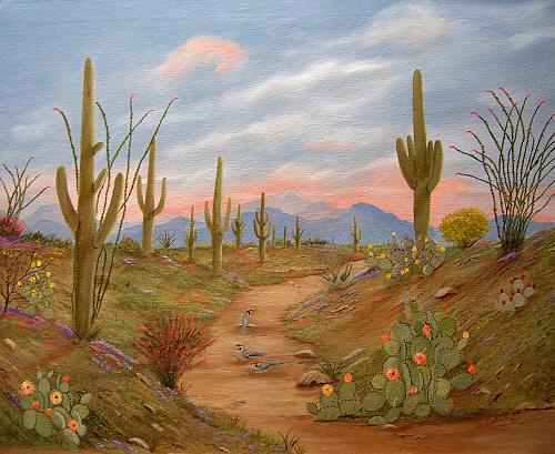 Desert SunsetsSouthwest Paintings Arizona Landscapes By