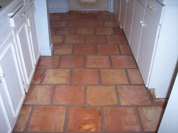 Homes with Saltillo Tile Floors