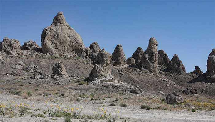 Trona Pinnacles  Star Trek Movies DesertUSA