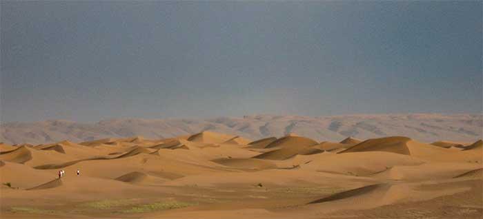 the sahara desert location