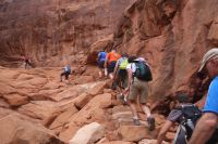 Hiking Fiery Furnace - Desert Road Trippin'