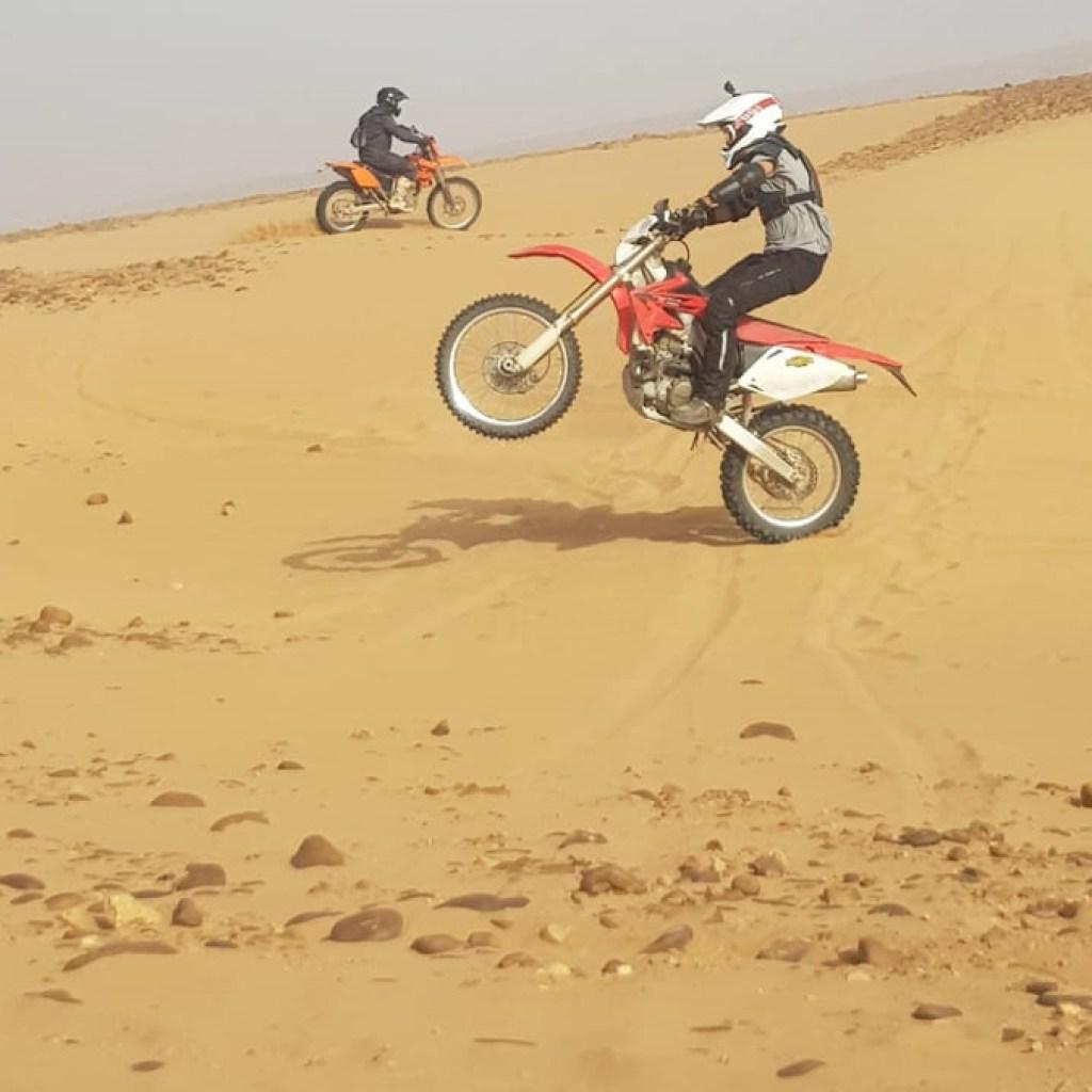 morocco desert KTM motorbike tour adventures