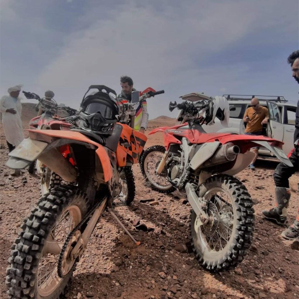 morocco desert motorbike tour