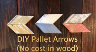 DIY Pallet Wood Arrow's