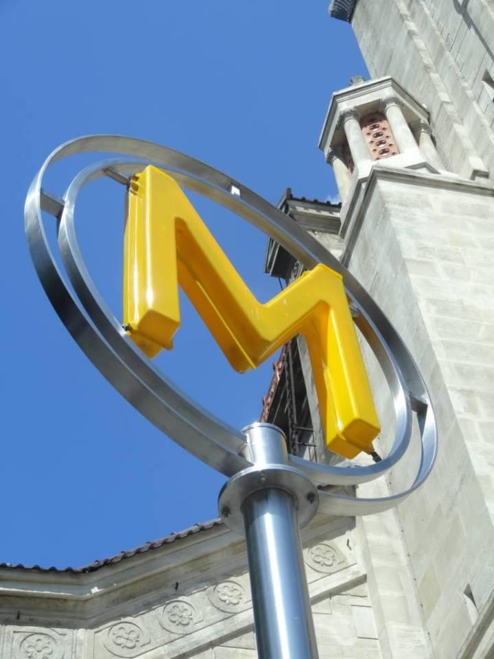 Métro station Alésia