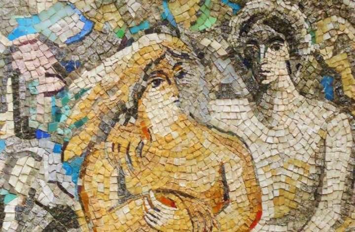 Mosaique de Chagall à la Fondation Maeght, Saint-Paul-de-Vence - France
