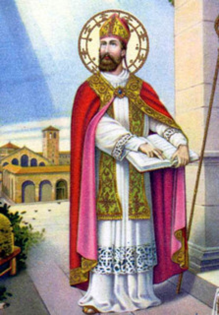 Saint-Ambroise, patron des apiculteurs