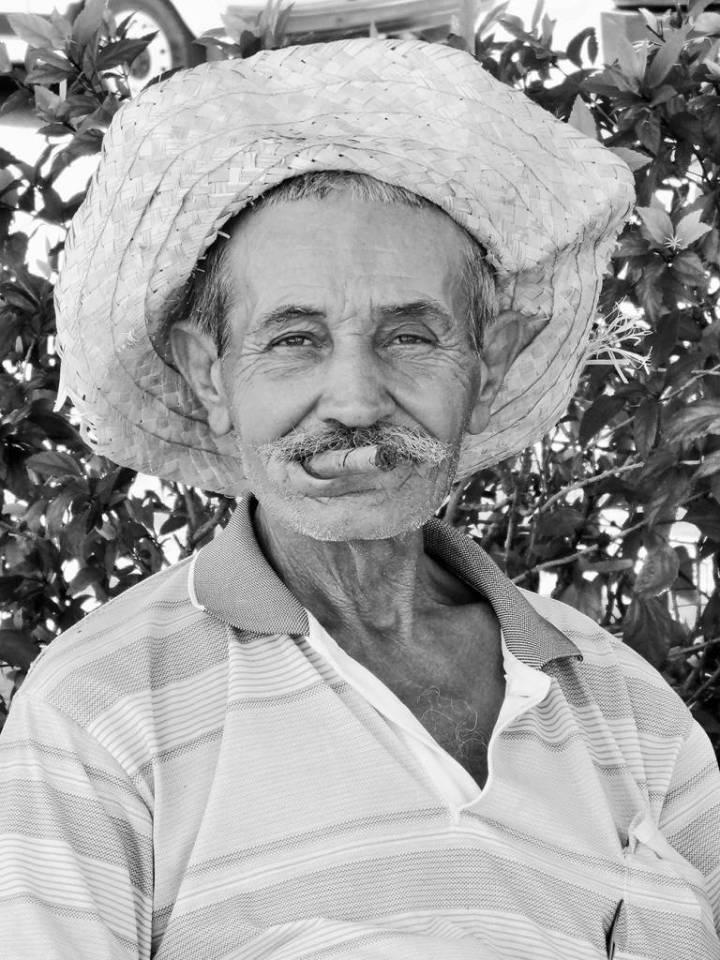 Vieil homme au Havane