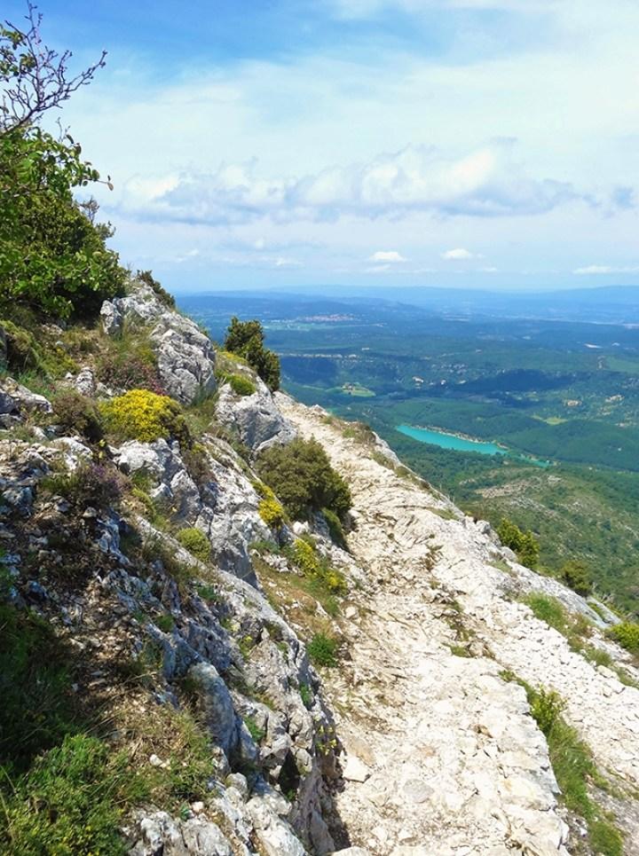 Du sommet de la Sainte-Victoire