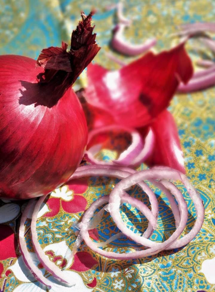 Oignon rosé de Roscoff
