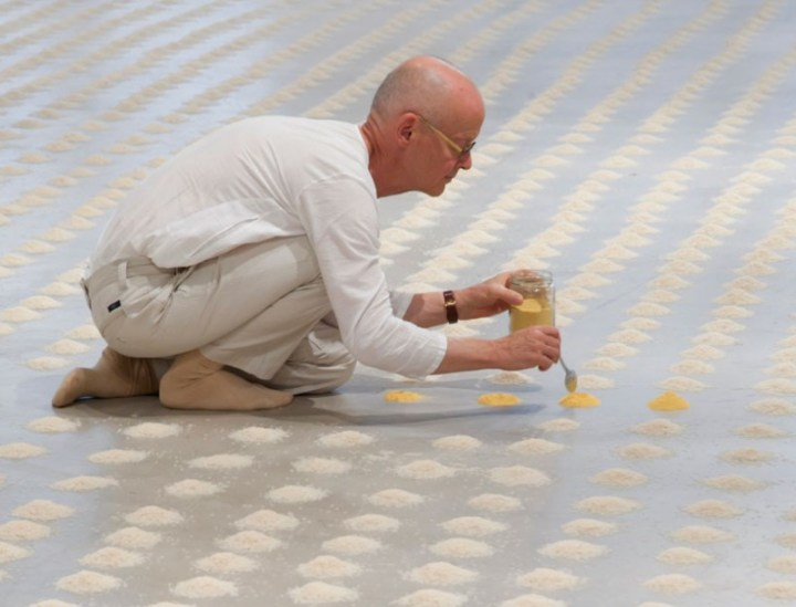 Wolfgang Laib, du pollen au Musée