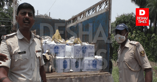 A huge amount of alcohol was found in the school of Singhwara, Darbhanga... read full news