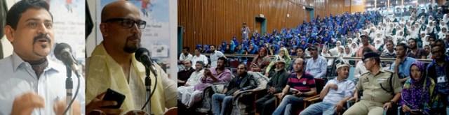 Kargil International Film Festival, Haji Anayat Ali, Syed Mehdi Memorial Auditorium Hall Kargil, CEC LAHDC Kargil Kacho Ahmad Ali Khan, MLA Kargil Haji Asgar Ali Karbalia,