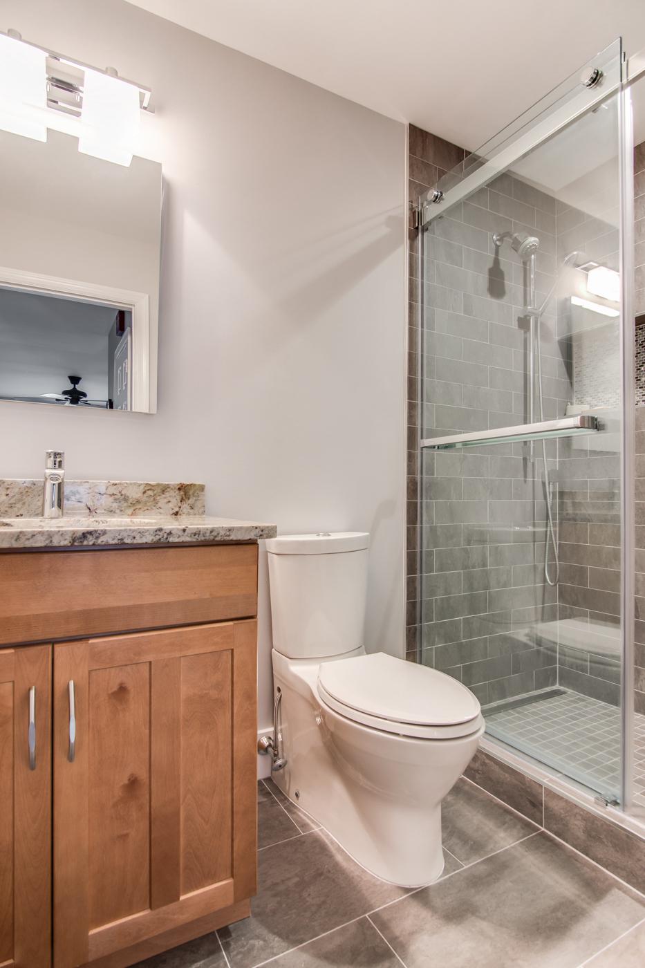Mount Laurel NJ Bathroom Remodel   Cawley   DES Home Renovations
