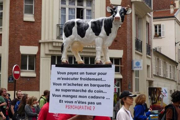 Marche pour la Fermeture des Abattoirs 2013