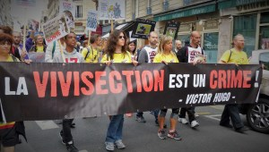 Grande Manifestation unitaire contre la vivisection - Paris 2015