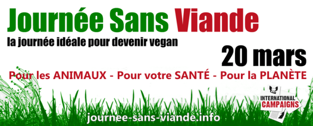 Journée Sans Viande 20 mars - France