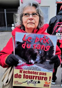 Danielle-Action anti-fourrure Zapa du 07 janvier 2017